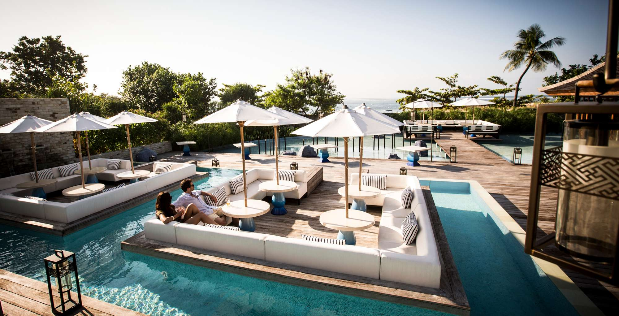 The Deck gourmet Lounge Bali Club Med